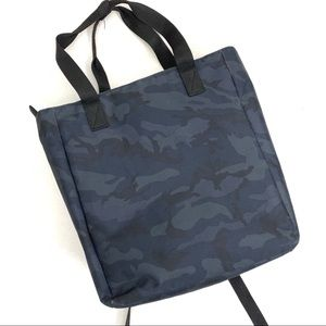 Lo & Sons Blue Camo Edgemont Convertible Backpack